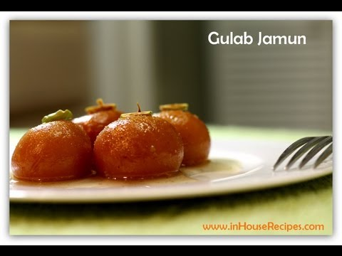 Gulab Jamun Recipe with Khoya and Chashni - Hindi with Eng Subtitles