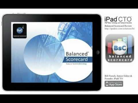 Balanced Scorecard for iPad: Review from iPadCTO
