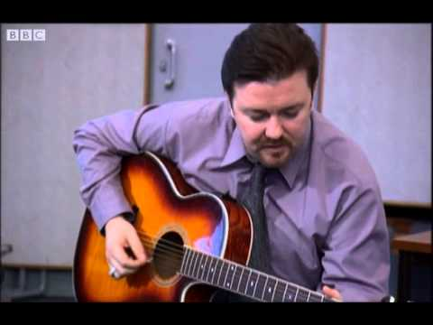 **Comedy Week** David Brent on Guitar - Free Love Freeway - The Office - BBC