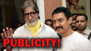 Aamir Khan's social show to have Amitabh Bachchan! | Bollywood News