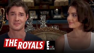 The Royals | Max and Genevieve Play the American Slang Game | E! - EENTERTAINMENT