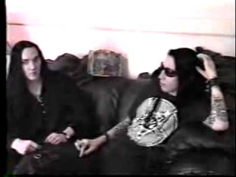 Marilyn Manson & Twiggy on Public Access 1995 (Part 1)