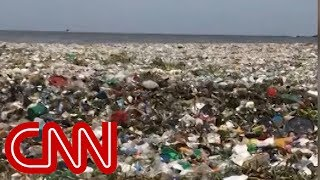 See wave of garbage crash off the Dominican Republic - CNN