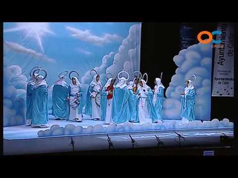 Sesión de Cuartos de final, la agrupación La mare que lo parió actúa hoy en la modalidad de Chirigotas.