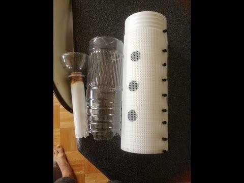 Aquaponics: How to make a Bell Siphon and a miniature aquaponics system.