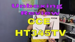 Notebook CCE HT345TV - Unboxing e Review bom e barato