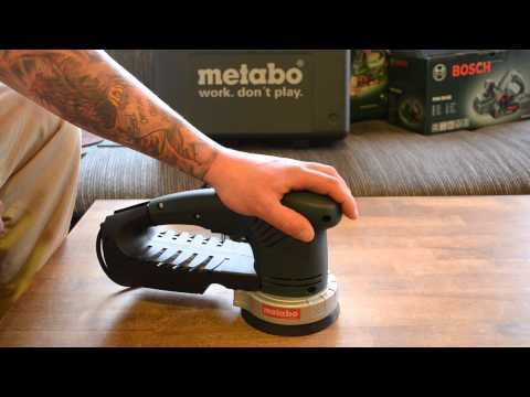 Metabo SXE 325 intec Unboxing deutsch