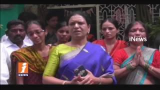 Congress DK ARuna Visitation Doctor Srikanth Family | Srikanth Goud Kidnapped In Delhi | iNews - INEWS