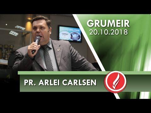 2º Congresso GRUMEIR - Pr. Arlei Carlsen - 20 10 2018