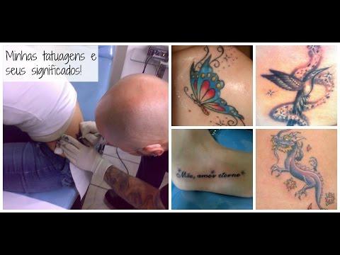 Minhas Tatuagens e os seus significados!