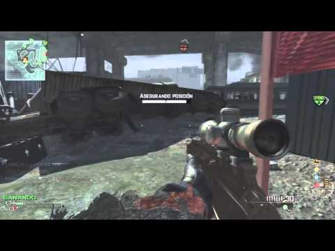 MOAB SNIPER MSR Gold | MW3 Gameplay
