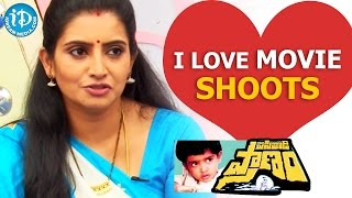 I Love Movie Shoots - Sujitha || Talking Movies with iDream - IDREAMMOVIES