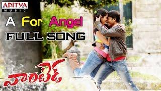 Wanted Telugu Movie A For Angel Full Song    Gopichand, Deeksha Seth - ADITYAMUSIC