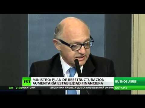 Argentina presentará una convención para reestructurar deudas soberanas