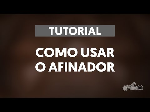 Tutorial de como usar o afinador do Cifra Club
