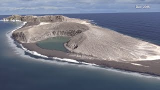 A New Time-lapse of an Island Forming in Tonga - NASAEXPLORER