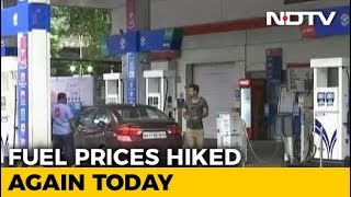 Petrol Rates Surge Again, Diesel Prices Unchanged - NDTV