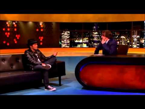 Bruno Mars on The Jonathan Ross Show 2013