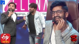 Sekhar Master Funny Punches on Sudigali Sudheer - Dhee Champions (#Dhee 12) - 19th February 2020 - MALLEMALATV