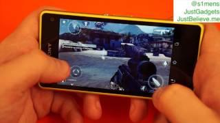 Игры на Sony Xperia Z1 Compact