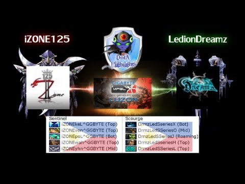 DotAHL 192 - [GMPGL 4.6] iZONE125 vs LedionDreamz