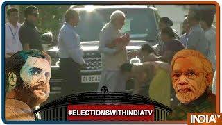 Lok Sabha Elections 2019: Vote करने से पहले PM Modi ने लिया मां हीरा बेन का आशीर्वाद - INDIATV
