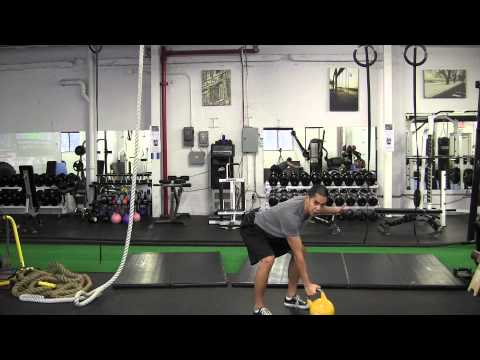 Kettlebell for Fighters How to One Arm Snatch