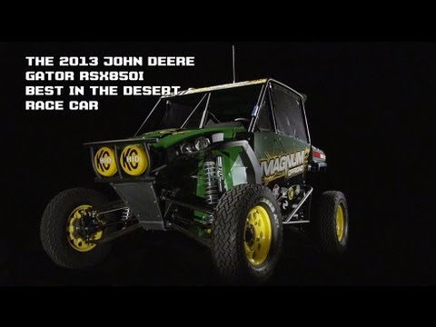 The 2013 John Deere Gator RSX 850i Best In The Desert Car Episode 1: The Build