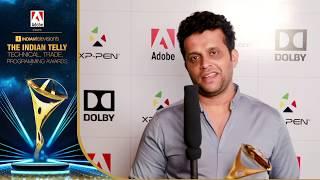 Best Sound for Fiction Show Raghavendra Hegde - TELLYCHAKKAR