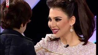 فيديو الظهور التلفزيوني الأول لابن الفنانة قمر.. وماذا قالت عن قضيتها ضد جمال أشرف مروان؟!