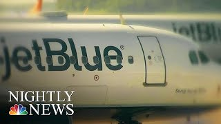 Toxic Fumes May Have Caused JetBlue Flight's Emergency Landing | NBC Nightly News - NBCNEWS