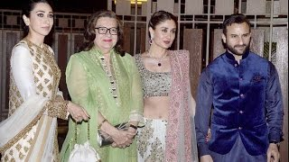 Kareena Kapoor Khan, Saif Ali Khan at  Soha Ali Khan and Kunal Khemu's wedding reception
