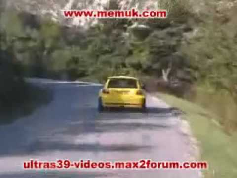 Proton Satria Neo S2000 Rally car being tested at French Alps