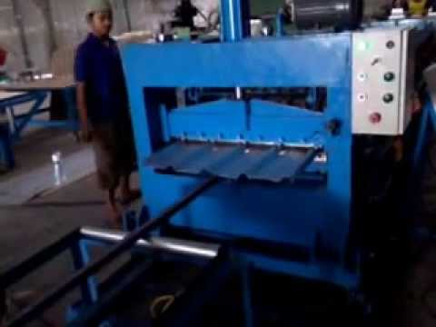 Video Kerja mesin Roll Forming