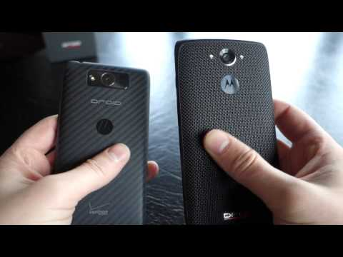 DROID Turbo vs. DROID MAXX and Moto X (2nd Gen)