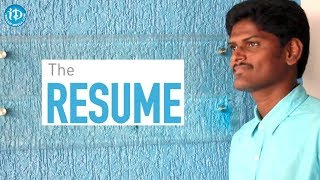 THE RESUME - Latest Telugu Short Film 2018 || Directed By Suresh Kumar Kampelli - YOUTUBE