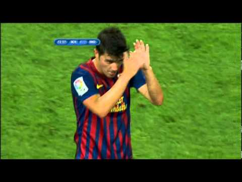 Barcelona vs Real Madrid full match 2nd half 17.08.11