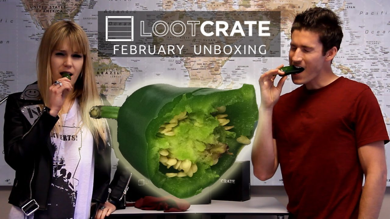 Loot Crate and Jalapenos Unboxing - February 2014