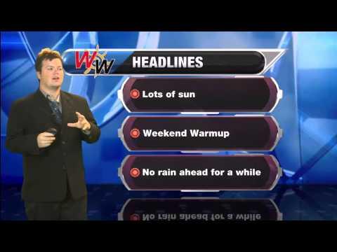 September 18th, 2014 Forecast