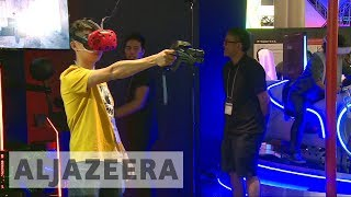Virtual reality highlight of Tokyo Game Show convention - ALJAZEERAENGLISH