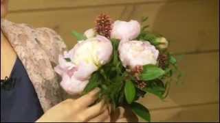 Ботаника. Классический букет невесты из роз. 253