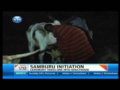 Samburu initiation ceremony