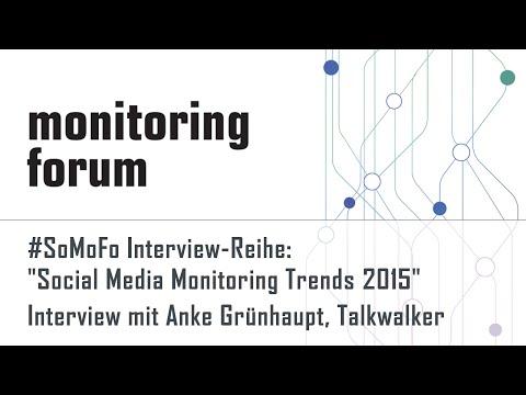 #somofo15 Interview mit Anke Grünhaupt, Talkwalker