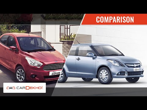 2015 ford figo aspire vs maruti suzuki swift dzire first. Black Bedroom Furniture Sets. Home Design Ideas