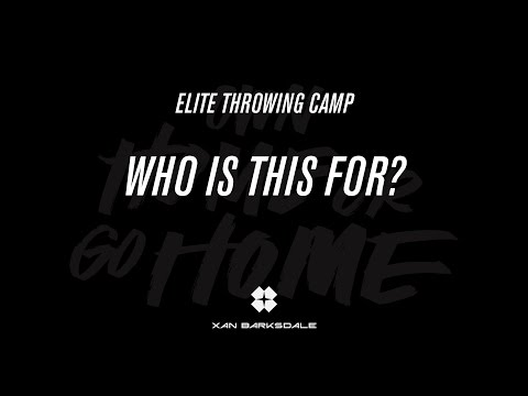 Who is the Elite Throwing Camp for?