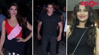 Salman, Jacqueline, Sonakshi & Anil Set Their Style Quoteint High At 'Race 3' Screening - ZOOMDEKHO