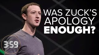 Is Facebook's apology over Cambridge Analytica enough? (The 3:59, Ep. 374) - CNETTV