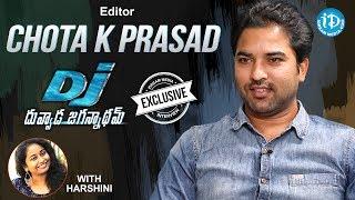 DJ Movie Editor Chota K Prasad Exclusive Interview || Talking Movies With iDream - IDREAMMOVIES