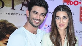 Sushant Singh Rajput & Kriti Sanon Too Busy For Each Other? - ZOOMDEKHO