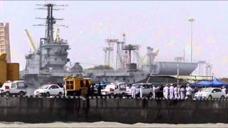 Another naval accident, one officer killed on board INS Kolkata - TV5NEWSCHANNEL